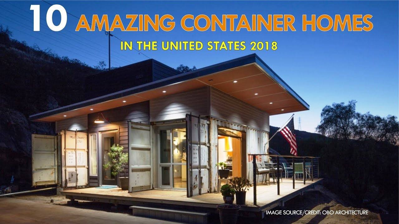 10 amazing modern shipping container prefabs and modular homes in the united states 2018