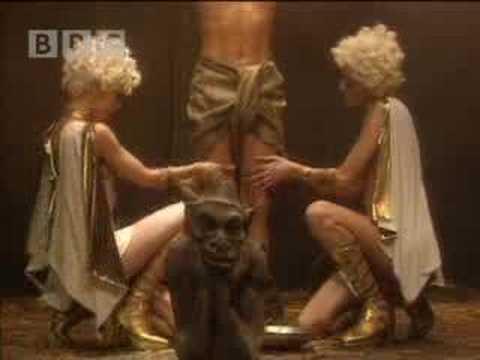 Rimmer's Mind Gets Oiled Up - Red Dwarf - BBC