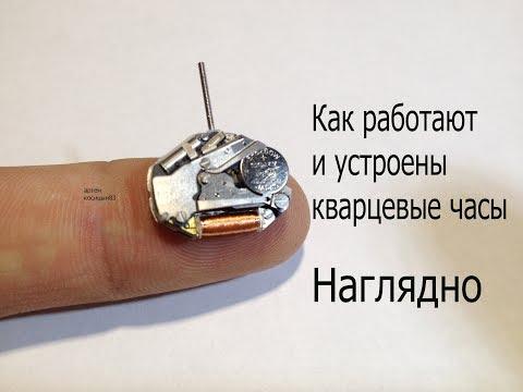 Как работают и как устроены наручные кварцевые часы.
