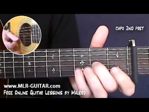Comment jouer Hotel California à la guitare-Accords et Rythmique