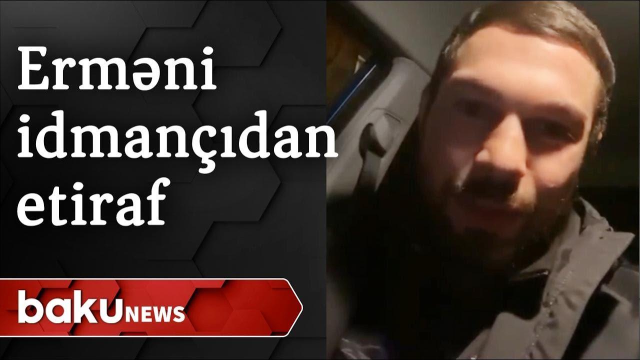 """Erməni idmançıdan etiraf: """"Azərbaycan mülki obyektləri hədəf almır"""""""