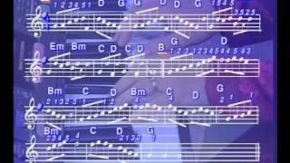 Liên kết ba hợp âm G - C - D7