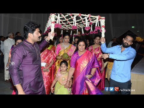 Celebs @ Sr.Ntr Grand Daughter Devayani Wedding - NTR,Kalyan Ram,Chandra Babu,Mohan Babu