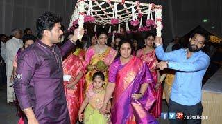 Celebs @ Sr.Ntr Grand Daughter Devayani Wedding - NTR,Kalyan Ram,Chandra Babu,Mohan Babu