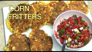Corn Fritters Cheekyricho Easy Video Recipe Episode 1,033