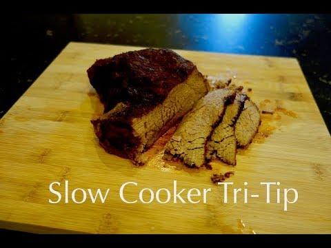Slow Cooker Tri-tip