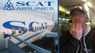 Flying The Most Dangerous Airline in the World? Kazakhstan's Former Blacklisted Airline SCAT Air!