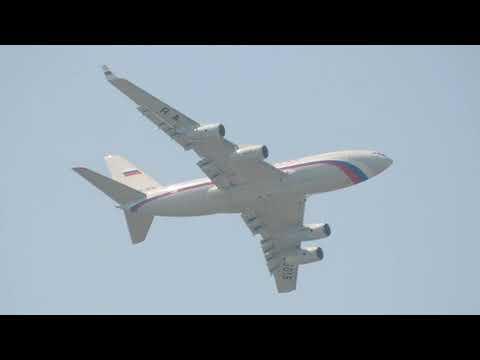 Ilyushin Il-96-300PU Rossiya - Special Flight Squadron RA-96016 approach into UUWW 10.06.2020