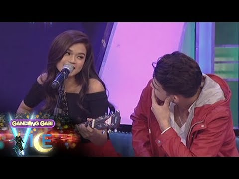 GGV: Maris Racal sings her composition for Iñigo Pascual