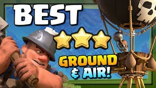 BEST Ground and Air Attack Strategies at TH11 in Clash of Clans!