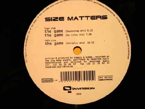 Size Matters - The Game (Housetrap Mix) |
