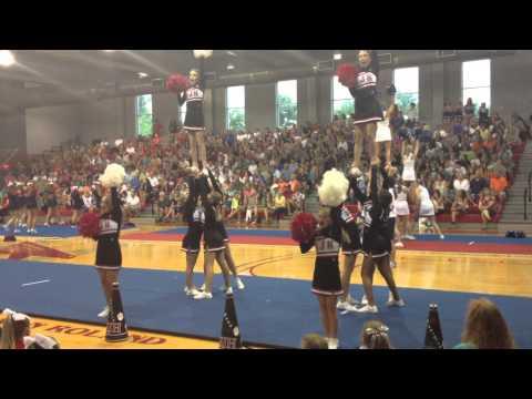 Springwood School JV Cheerleaders State Champs 2013