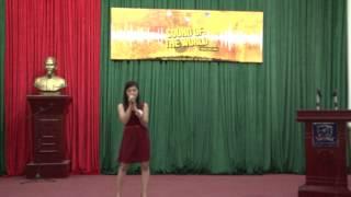 MS14: Set fire to the rain - Hà Thị Hương (Khoa Pháp - ĐHNN - ĐHQGHN)