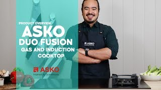 ASKO Matte Duo Fusion Cooktop Overview | Product Video | Dual Gas and Induction Cooktop