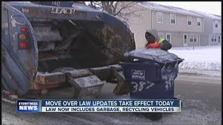 Sanitation vehicles now included in NY 'Move Over' Law