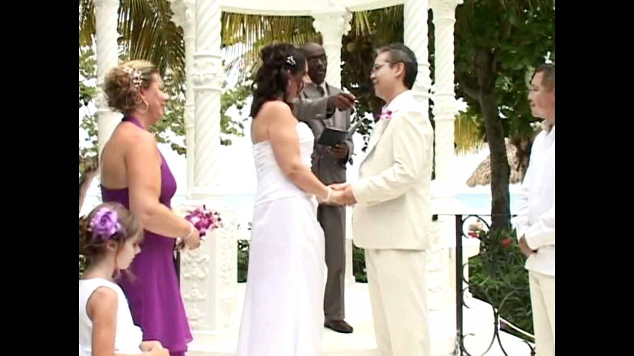 Jeff Tracey S July 7th 2017 Jamaica Wedding Ceremony Avi