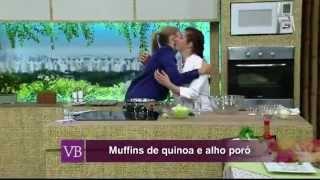 Você Bonita - Muffins de Quinoá com Alho Poró (15/06/2015)