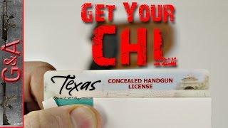 Get Your Concealed Handgun License !