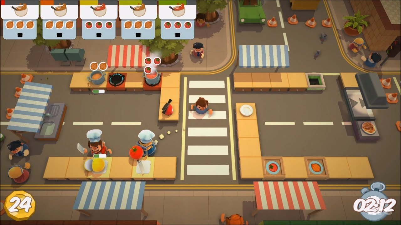 Overcooked Gameplay (PS4 HD) [1080p60FPS] - YouTube