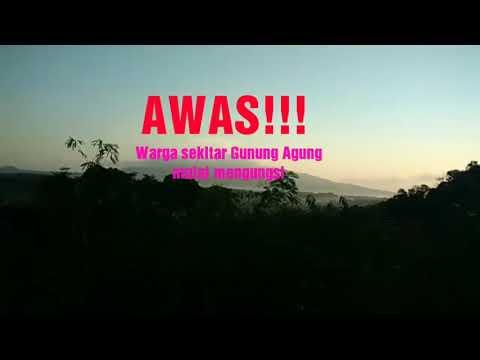 Gunung Agung Bali Status Level: 4. Awas. Pengungsi terus mengalir. Please help