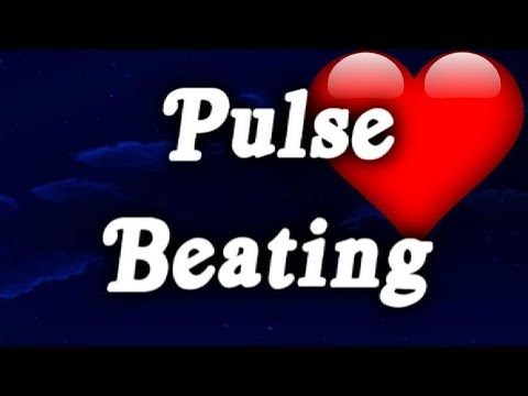 ▶️ PULSE BEATING SOUND EFFECT. SLEEPING, MEDITATING, RELAXING HEART WHITE NOISE. FOR 12 HOURS. 📢