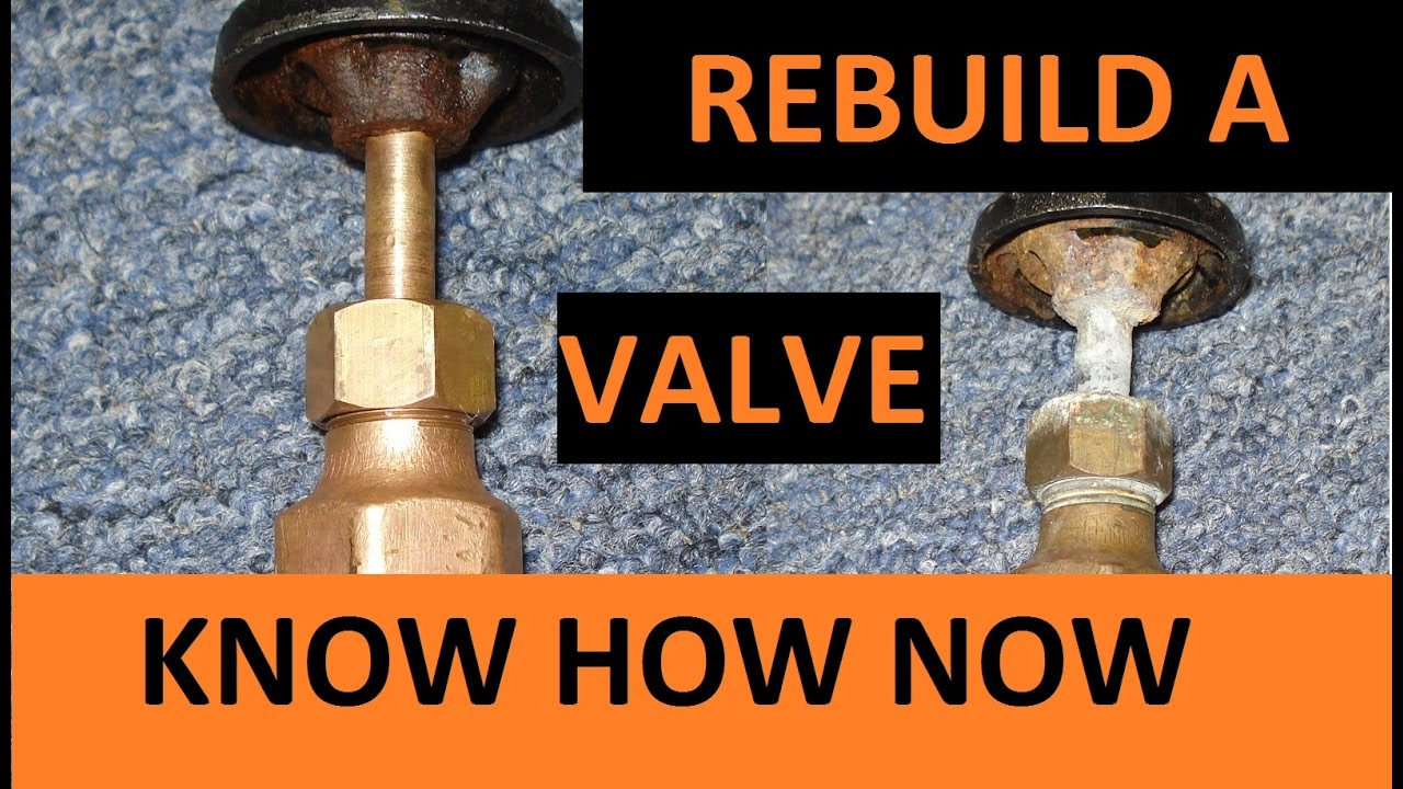 Rebuild Water Shut Off Valve Youtube