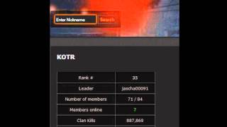 WarRock, WASTA neue WR Stats, Clan KOTR, Rang 35 [HD]