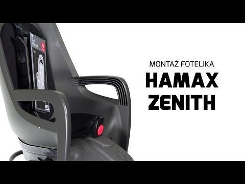 Hamax Zenith - fotelik rowerowy | Montaż