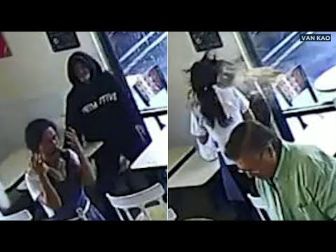VIDEO: Canoga Park Spudnuts owner gets hot coffee thrown in face | ABC7