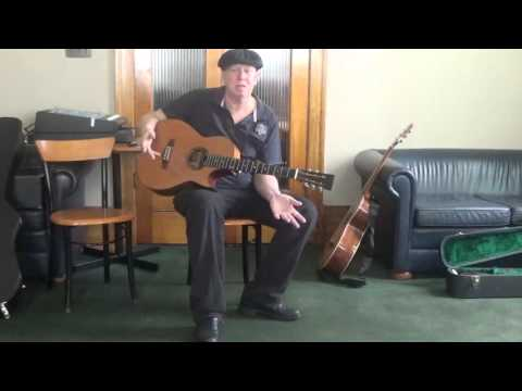 Guitar Finger Picking Workshop  Greg Luland GosBlues  Hotel Gosford Film By Corina Luland 21022016