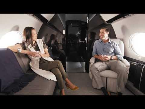 Gulfstream's Whisper-Quiet Cabin