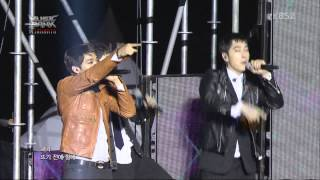 [1080p HD] 130319 Music Bank JKT 2PM - Hands up