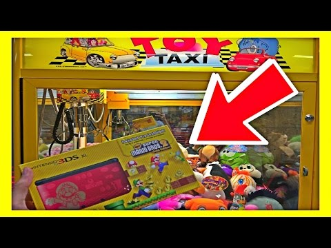 ★Winning A Nintendo 3DS XL From A Claw Machine!?! ~ ClawTuber