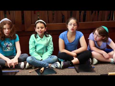 A Day in the Life of Hebrew School at Darchei Noam