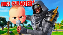 7 Year OLD Voice Changer Trolling in FORTNITE... (they get mad)