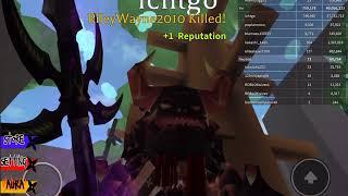 ROBLOX Yin vs yang glitch fixed! Robux problem. And giant kill spree!