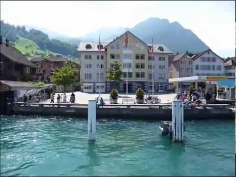 Lake of the Four Cantons, Luzerne, Switzerland