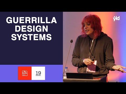 Guerrilla Design Systems - Laura González - Design Systems London 2019