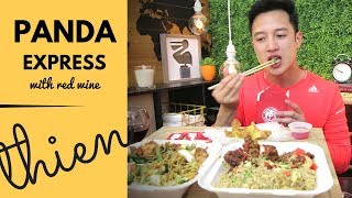 [mukbang with THIEN]: PANDA EXPRESS (Orange Chicken, Five Flavor Shrimp, and Beijing Beef)