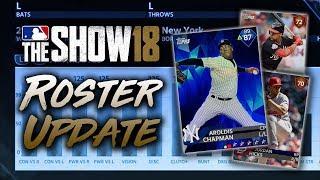 Juan Soto & Jordan Hicks Added! June 22nd Roster Update! MLB The Show 18 Diamond Dynasty