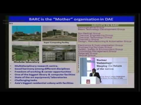 Bhabha Atomic Research Centre (BARC )at Navrachana University Vadodara (NUV) - Vol 3