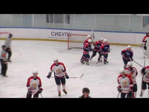 Хоккей, Зимняя Лига Новосибирска, 15 тур, Айсберг, ТрансСибНефть, 10.12.2016
