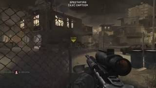 Call of Duty modern warfare multiplayer gameplay PC Sabotage