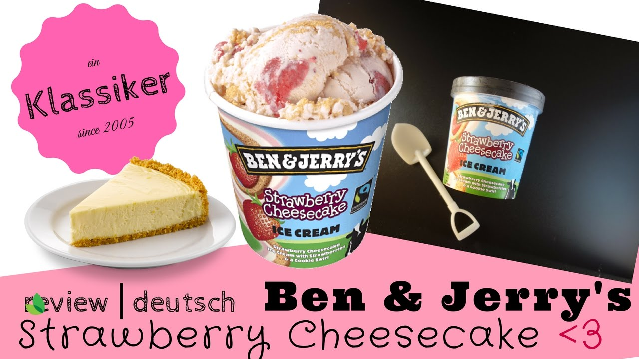 ben jerry s strawberry cheesecake pint review unboxing
