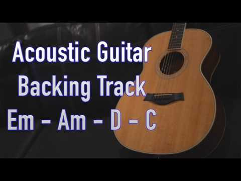 Acoustic Guitar Backing Track - Key of G