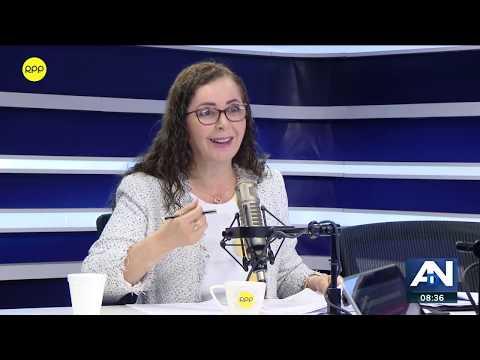 Rosa Bartra justificó la exclusión de Alan García y Luis Nava en el informe final de Lava Jato.