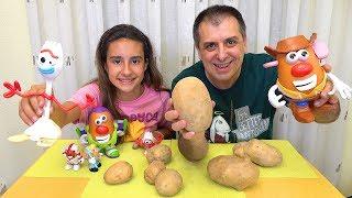 RETO DE TOY STORY. Hacemos Forky y Familia Potato