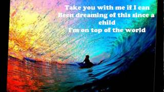 Repeat youtube video Imagine Dragons - On Top of the World - Lyrics