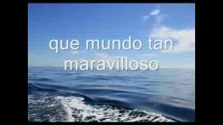 Un mundo maravilloso.wmv musica Louis Armstrong What a Wonderful word