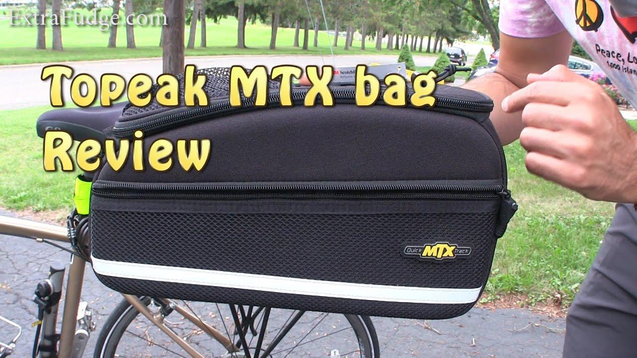 Topeak Mtx Trunk Bag Ex With Rigid Molded Panels